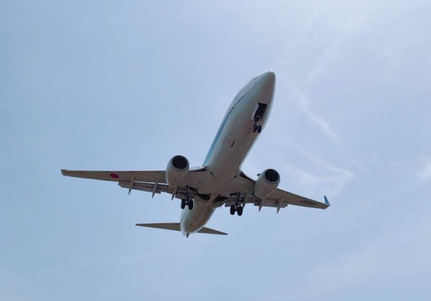 伊丹空港離着陸の撮影スポット